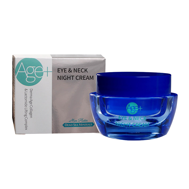 Derma age collagen lifting complex night eye and neck cream