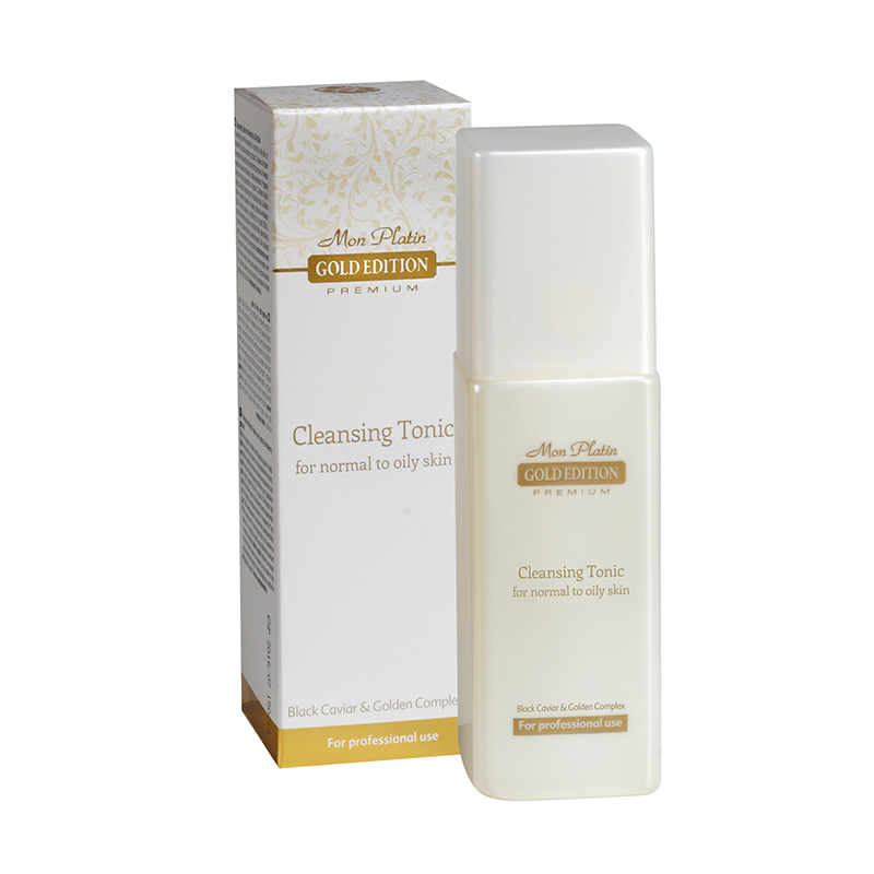 Gold edition cleansing tonic for normal to oily skin