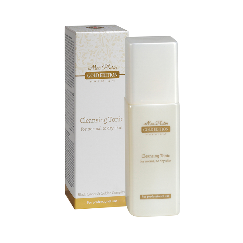 Gold edition cleansing tonic for normal to dry skin