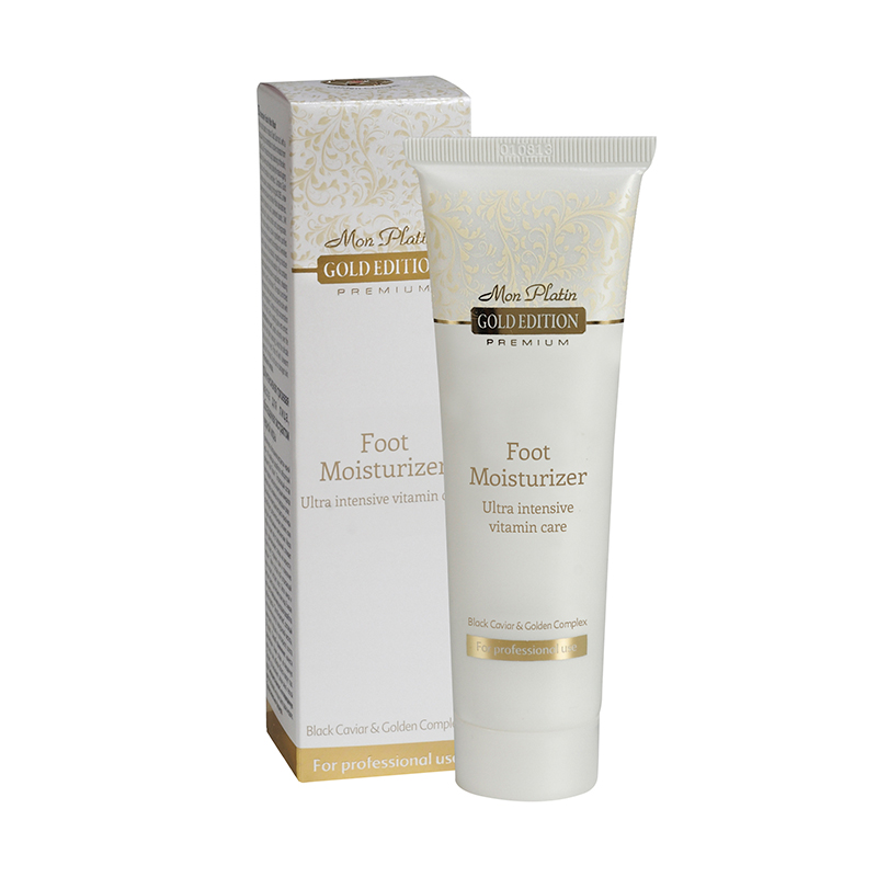 Gold edition foot moisturizer ultra intensive vitamin care