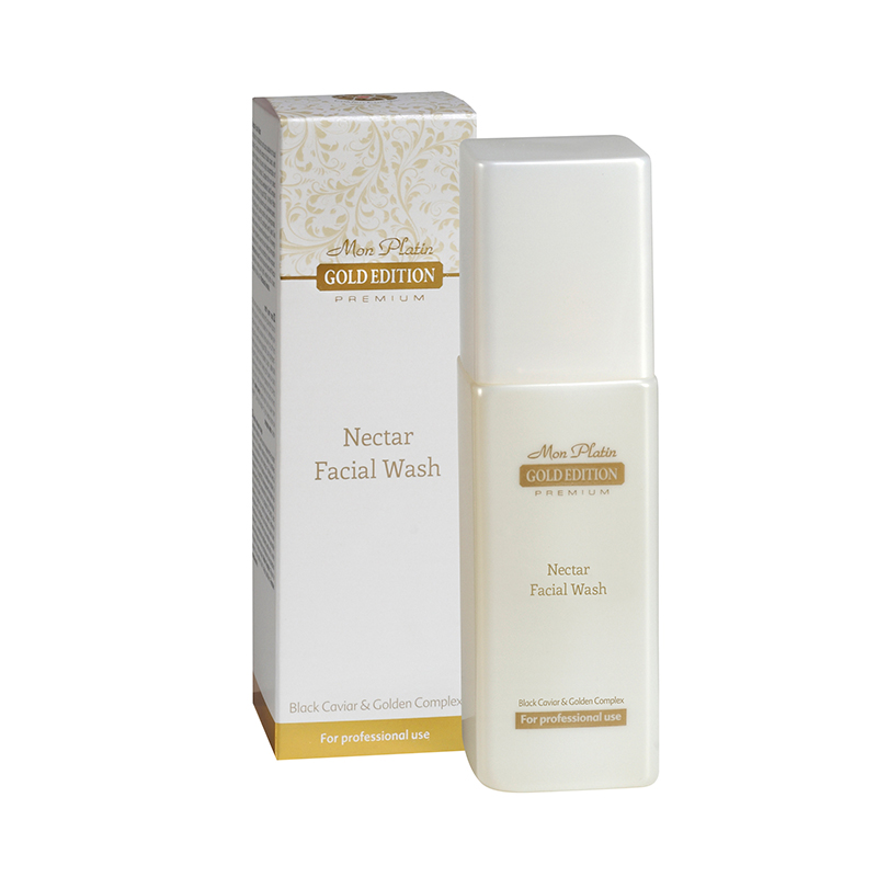Gold edition nectar facial wash