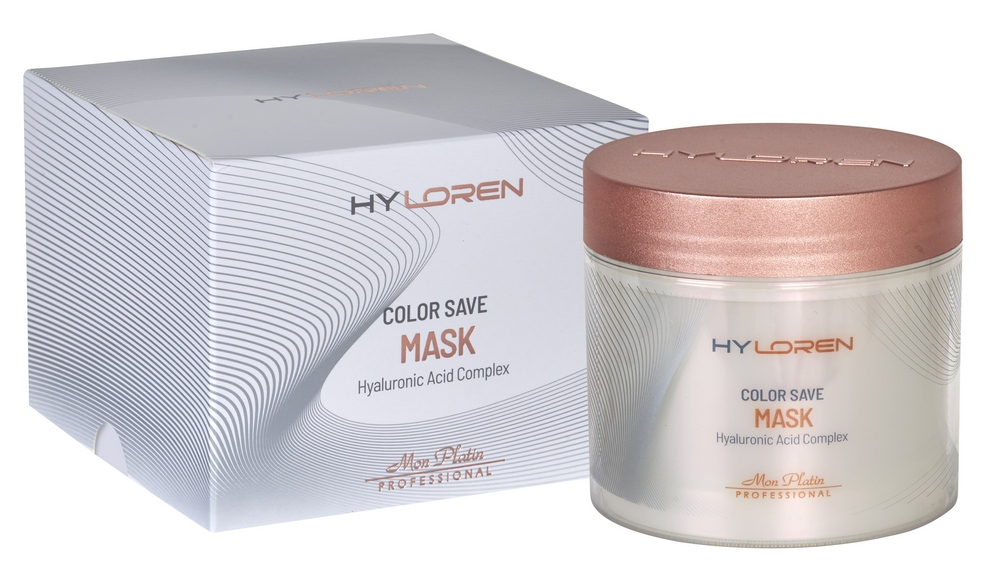 Hy Loren Premium №2 Hair Mask for Damaged Hair - COLOR SAVE