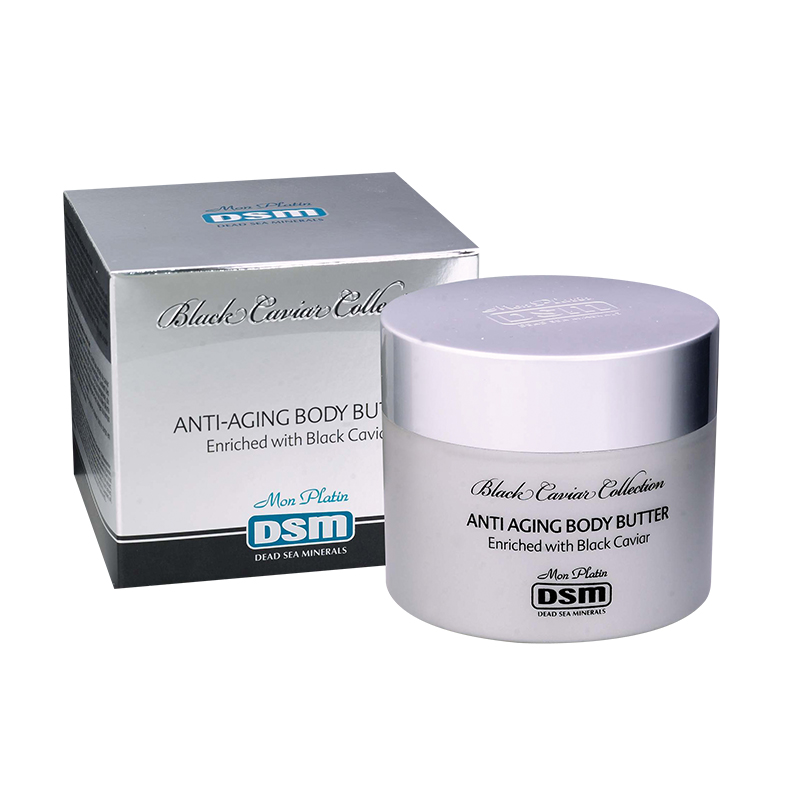 Anti-aging body butter black caviar