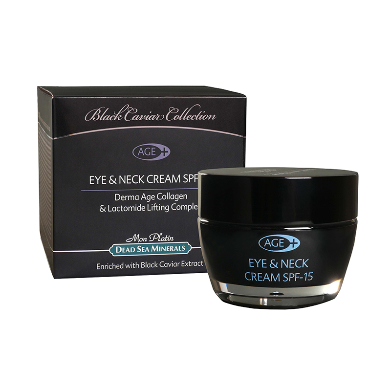 Eye&Neck cream derma-age plus SPF-15 black caviar