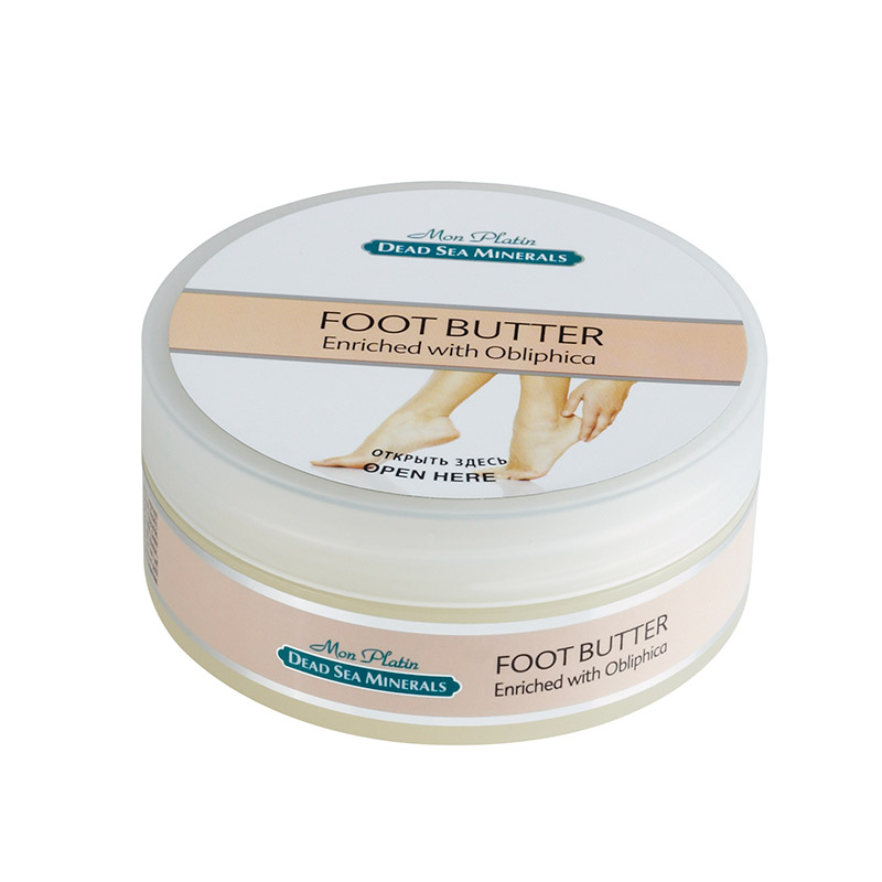 Foot butter enriched with obliphica