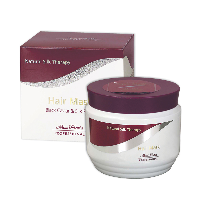 Hair mask natural silk therapy