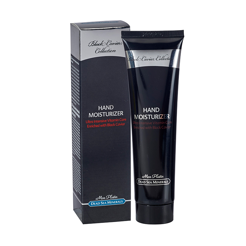 Hand moisturizer with vitamins capsules black caviar