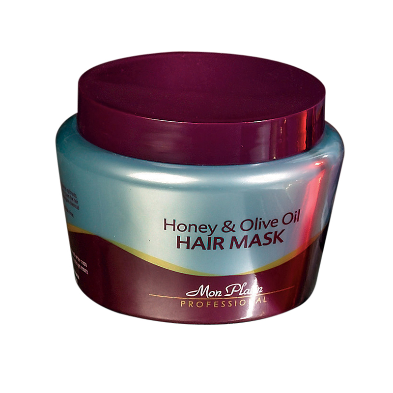 Honey & olive oil hair mask