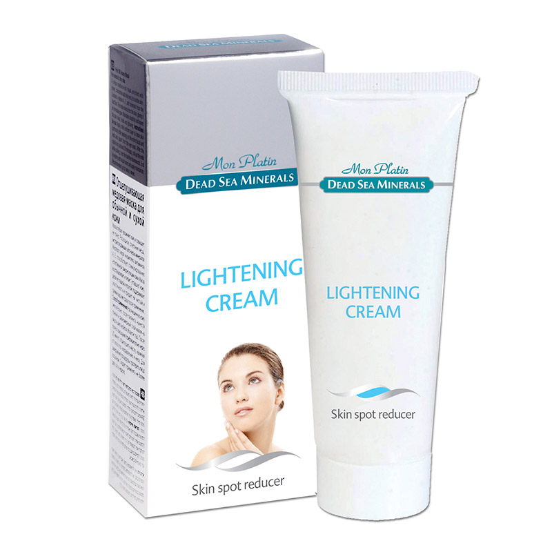 Lightening cream for skin spots