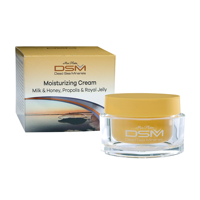 Moisturizing cream milk and honey