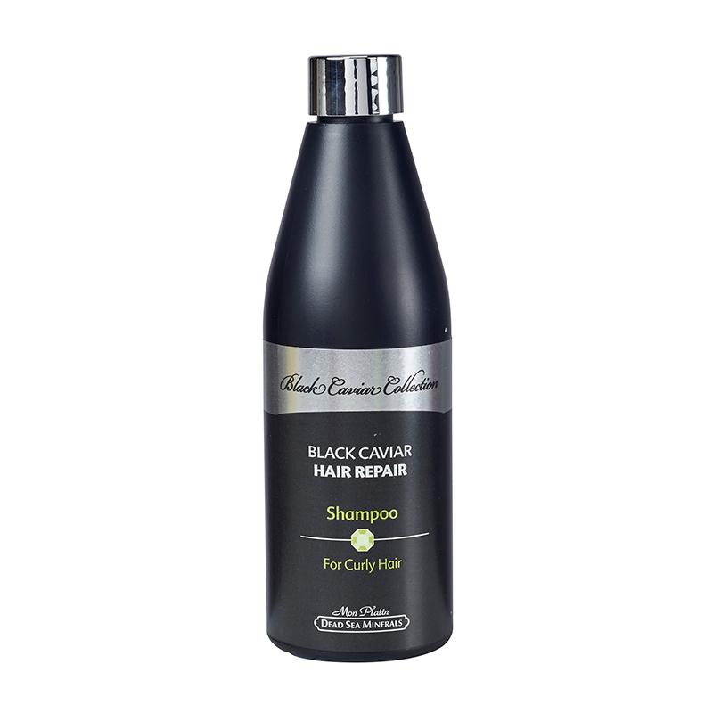 Hair repair shampoo for curly hair black caviar