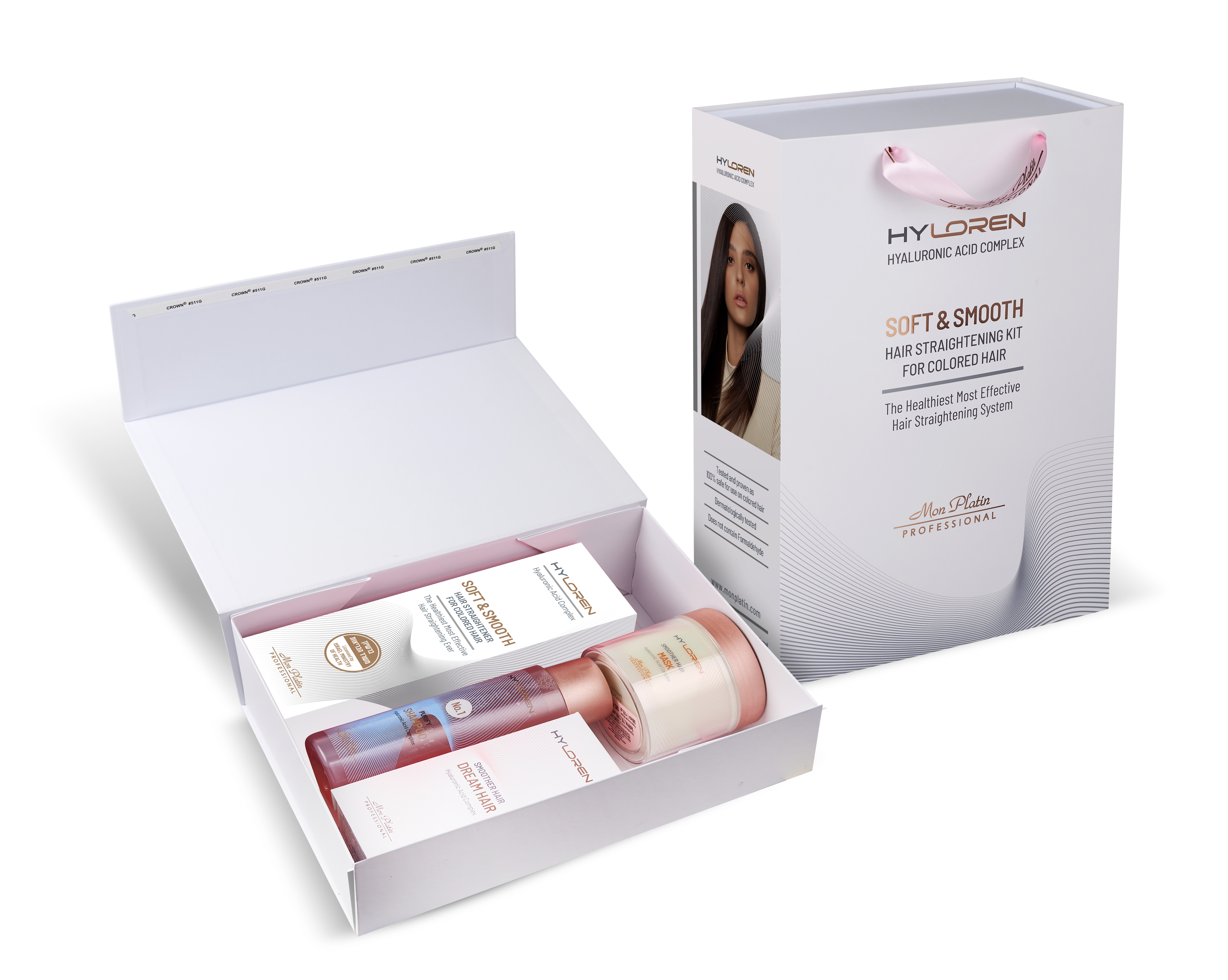 Soft and Smooth hair straightening cream for colored and dry hair